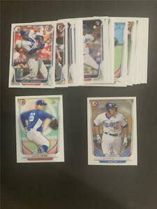 2014 Bowman Los Angeles Dodgers Team Set 23 Cards With Prospects & Draft