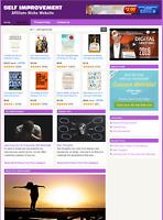 SELF IMPROVEMENT - Affiliate Information Website For Sale - Free Installation