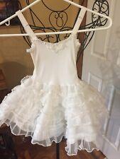 Girls Vintage Stones Wear Full Slip Crinoline Petticoat Sheer Party Dress Twirl