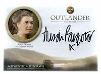 ALISON PARGETER as Margaret  / Outlander Season 3 (2019) Autograph Card AP b