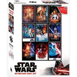 Star Wars: Saga One Sheet - 1000 Piece Jigsaw Puzzle