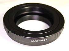 Leica Leitz M39 LTM screw mount lens adapter to Nikon 1 cameras J1 J2 AW1 V1 V3
