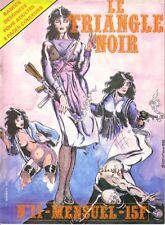 LE TRIANGLE NOIR N°11 CAP - magazine BD  pour Adultes