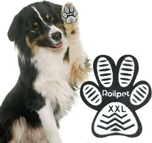 Roilpet Dog Paw Pads XXL, non-skid, aging dogs(11 sets of 4) inner packs sealed