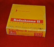 KODACHROME II COLOR MOVIE FILM - 16mm - 100ft - UNOPENED - DAYLIGHT-1969