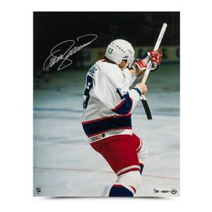 "Teemu Selanne Autographed 16X20 Photo ""Rookie of the Year"" Winnipeg Jets #/50"