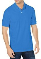 Club Room Mens Shirt Palace Blue Size 2XL Performance Stretch Pique Polo $49 199