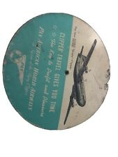 Vintage aviation Pan American Clipper PAA Time Selector