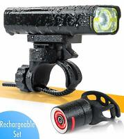 BrightRoad - The Original LED Bicycle Rechargeable Light Set | 800 Lumens