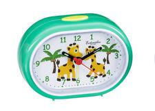 Analogica Sveglia per Bambino da Viaggio Verde con Giraffa Motivo