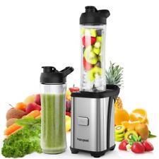 Homgeek mini batidora electrica 350w Portátil de vaso 600ml para smoothies zumo