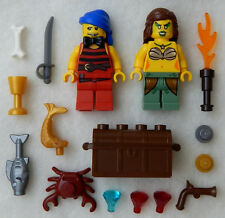 NEW LEGO MERMAID & PIRATE WEDDING MINIFIGS figures minifigures bride groom lot