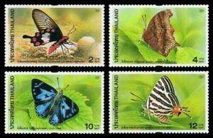 Thailand Stamp 2001 Butterflies 4th Series (Insects) ST