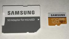 100% Genuine Samsung 128GB EVO (U3) Class10 MicroSD Card w/Adapter up to 100MB/s