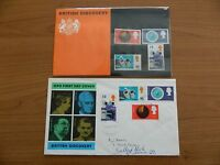 1967  BRITISH DISCOVERY PRESENTATION PACK   +   F D C   IN VERY GOOD  CONDITION