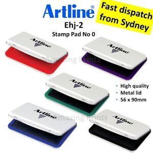 Artline Stamp Pad Ink Pad Inkpad Rubber Stamp Finger Print Craft baby hand foot
