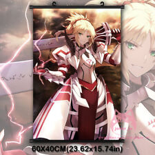 Fate Apocrypha Saber Mordred Japanese Anime Wall Scroll Poster Home Decor Gift