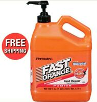 Pumice Hand Pump Soap Cleaners Dispenser Degreaser Mechanic Wash 1 Gallon Bottle