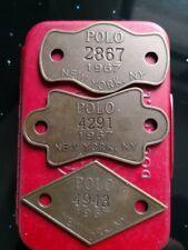 Genuine Vintage USA Ralph Lauren RL Polo Brass Insignia Emblem Badge Accessory