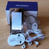 Electrode Therapy Pulse Simulate Massager Tens EMS Machine Touch Screen