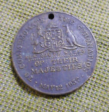 #D406. 1937 NEW SOUTH WALES CORONATION MEDAL