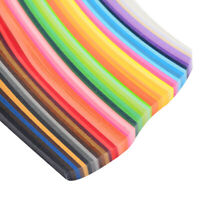500 Stripes Quilling Paper 5mm Width Mixed Color For DIY Craft 50 Colors Craft