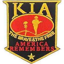 "KIA Patch, America Remembers. (3-1/2"")"