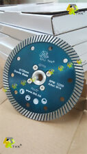 5 inch 125mm THK M14 thread flanged Diamond blade disc cutting grinding granite