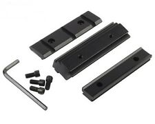 Dovetail 11mm to 20mm Weaver Picatinny Rail For Rifle Scope Mount Base Adapter