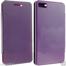 FOR BLACKBERRY Z10 BATTERY BACK LEATHER CASE COVER POUCH + SCREEN PROTECTOR OC04