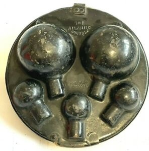 Vintage Atlantic Spare Bulb Holder Bulb Box, Rolls Royce Talbot Vauxhall Benz