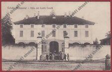 MONZA USMATE VELATE 03 VILLA CONTE CASATI Cartolina viaggiata 1915