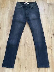 Black Boys Levi Jeans - 512 Slim Taper Age 12A
