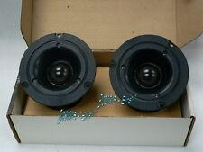 """MOREL MDT-27 28mm 1.1"""" Soft Dome Horn High Efficiency Tweeters Pair"""