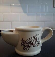 More details for  vintage wade pottery shaving jug mug aeroplane