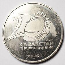 KAZAKHSTAN : 50 TENGE 2011 20ème ANNIVERSAIRE DE L'INDEPENDANCE