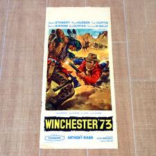 WINCHESTER 73 locandina poster affiche Anthony Mann James Steward M10