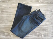 Juicy Couture blue Denim Mid Rise Boot Cut Jeans womens Size 25