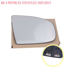 RH For BMW X5 X6 E70 E71 E72 2008-2014 Side Heated Wing Mirror White Glass