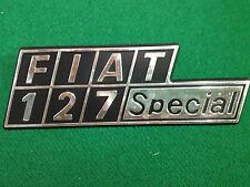 FIAT 127 SPECIAL BADGE SCRITTA EMBLEM NOS