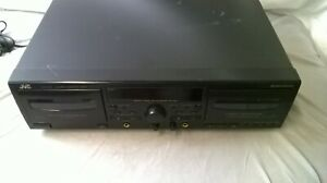 JVC TD-W 318 Dual Cassette Player Tested And Working
