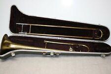 Selmer Bundy TromBone Designed Vincent Bach With V. Bach 12C Mouth Piece & Case