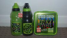 **BN** 1 x Zak Teenage Mutant Ninja Turtles TMNT Lunch Box + 2 Drink Bottles
