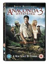 David Hasselhoff Anacondas 3 Offspring 2008 Cult Snake Anaconda Horror UK DVD