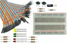 GPIO Basic Starter Kit for Raspberry Pi: Breadboard, Cable, LEDs, Switches etc
