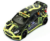Ford Fiesta RS WRC  Rally Monza 2014 V.Rossi 1/43 RAM603 Ixo Models
