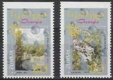 Georgia postfris 2001 MNH 376-377 Do - Europa (k113)