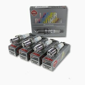 4 x NGK Spark Plug BKR6EQUP fits BMW 3 Series E46 318i 328i 323i 320i 323Ci