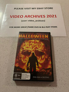 Halloween (2007 DVD). Rob Zombie. Horror Movie.