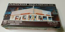 Vintage Plasticville Movie Theater 2607-100 HO Scale